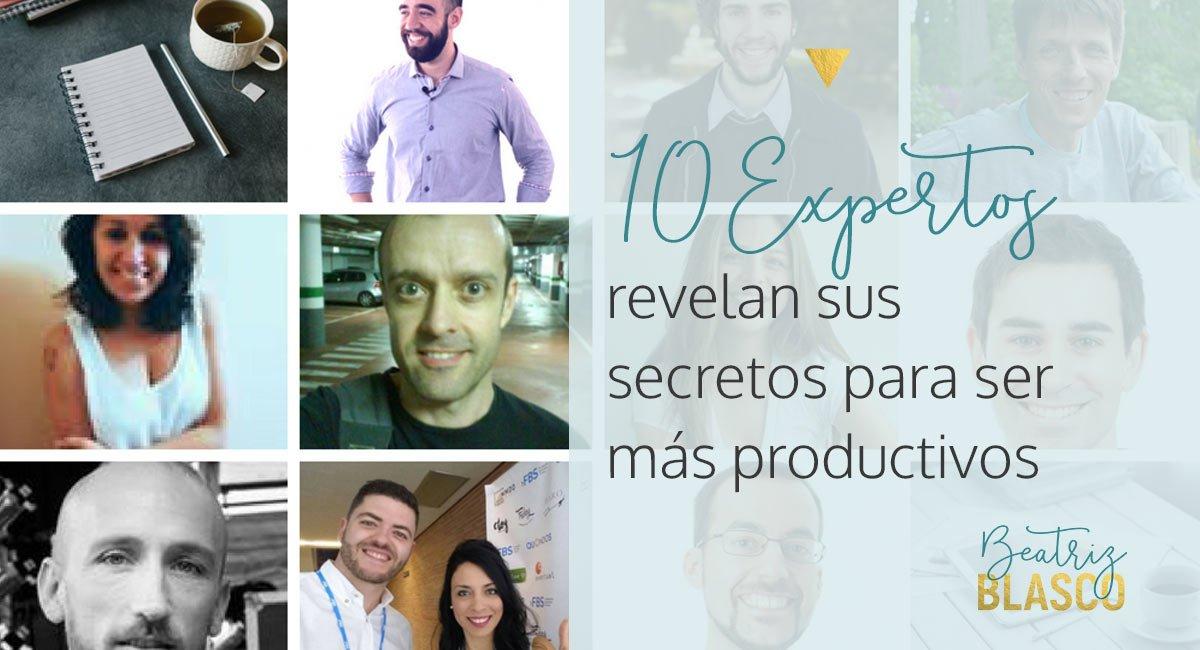 10 expertos revelan sus secretos para ser más productivos(2)