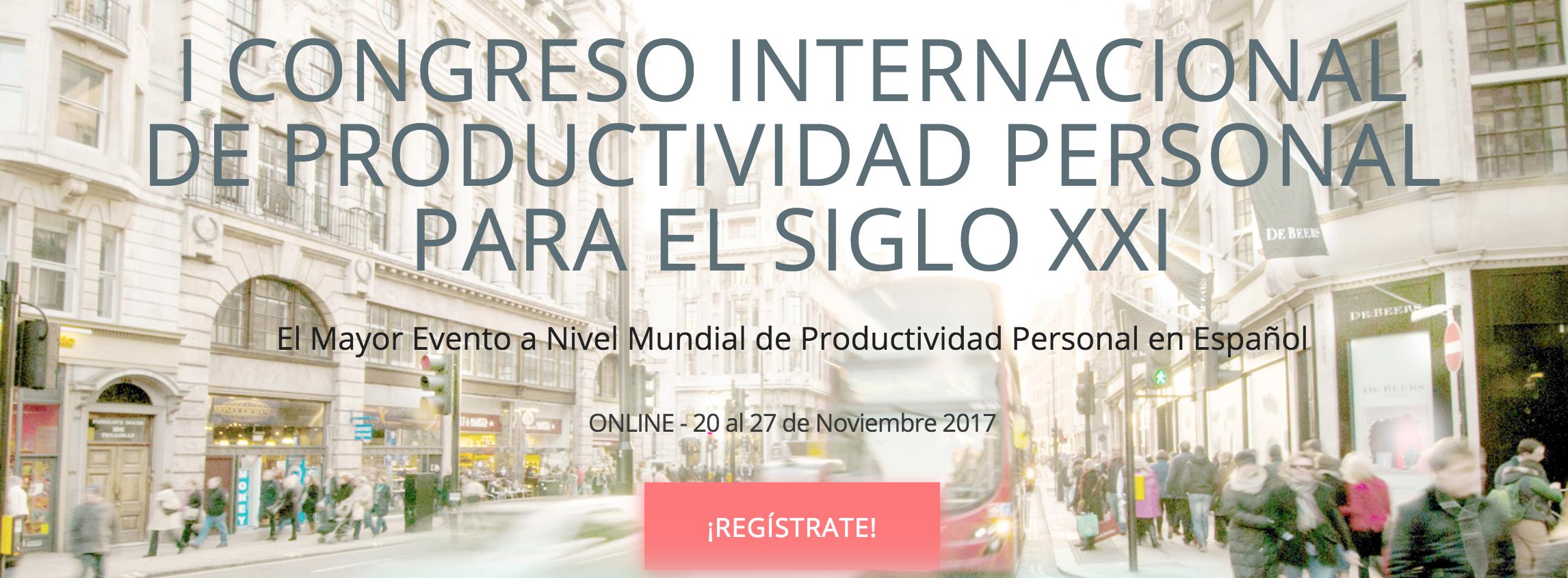 Congreso Internacional Online de Productividad Personal